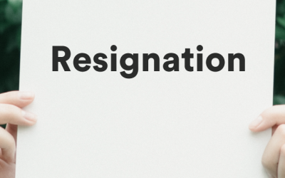 How To (and Why You Should) Resign Gracefully